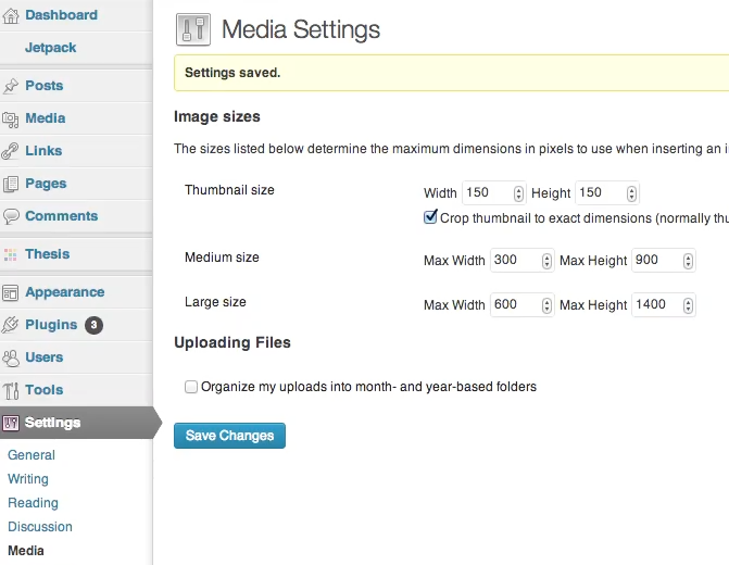 How to Have WordPress Resize Images for You